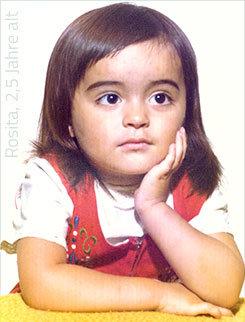 Rosita Fraguela, 2,5 Jahre alt, Künstlerin und angehende Designerin