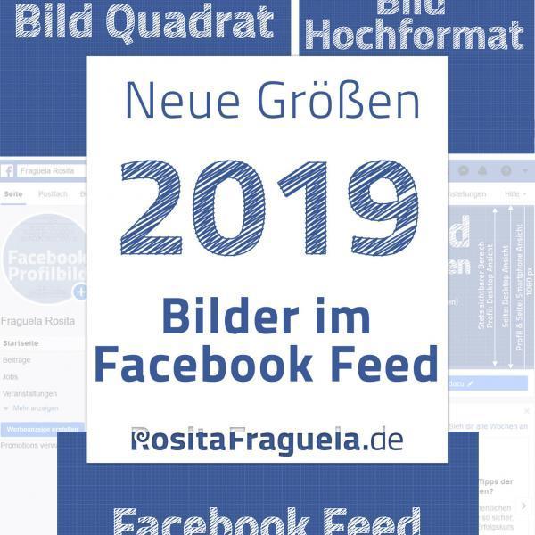 Optimale Bildgrößen in Pixel für Facebook Bilder im News- bzw. Seitenfeed. Hochformat, quadratisch und Querformat.