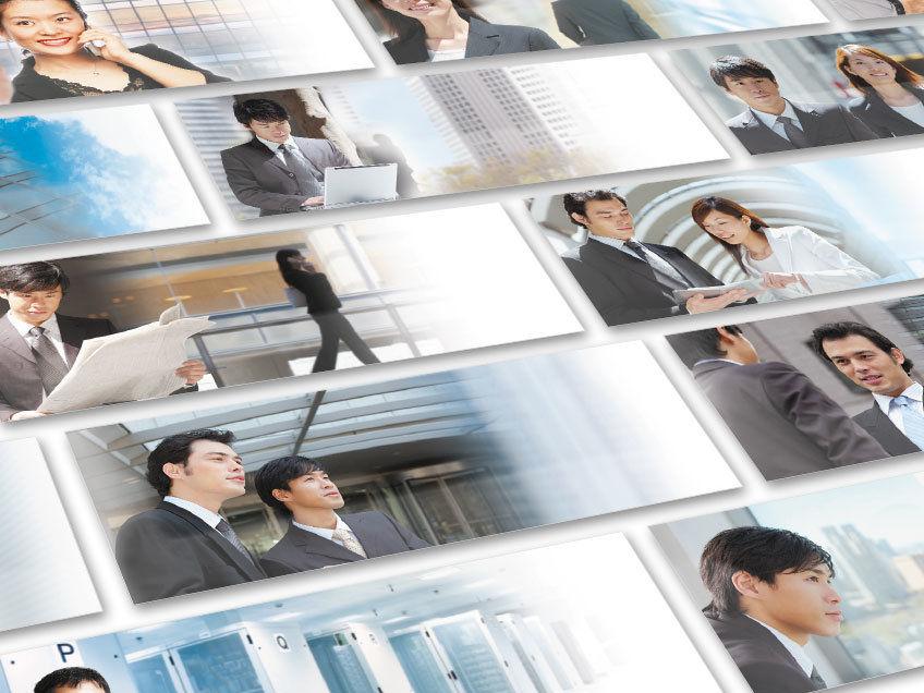 14 Keyvisuals für gedruckte Prospekte