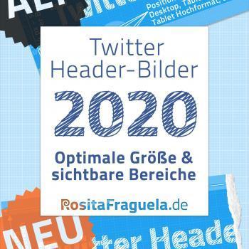 Twitter Headerbild, richtige Größe in Pixel, Breite x Höhe, 2020