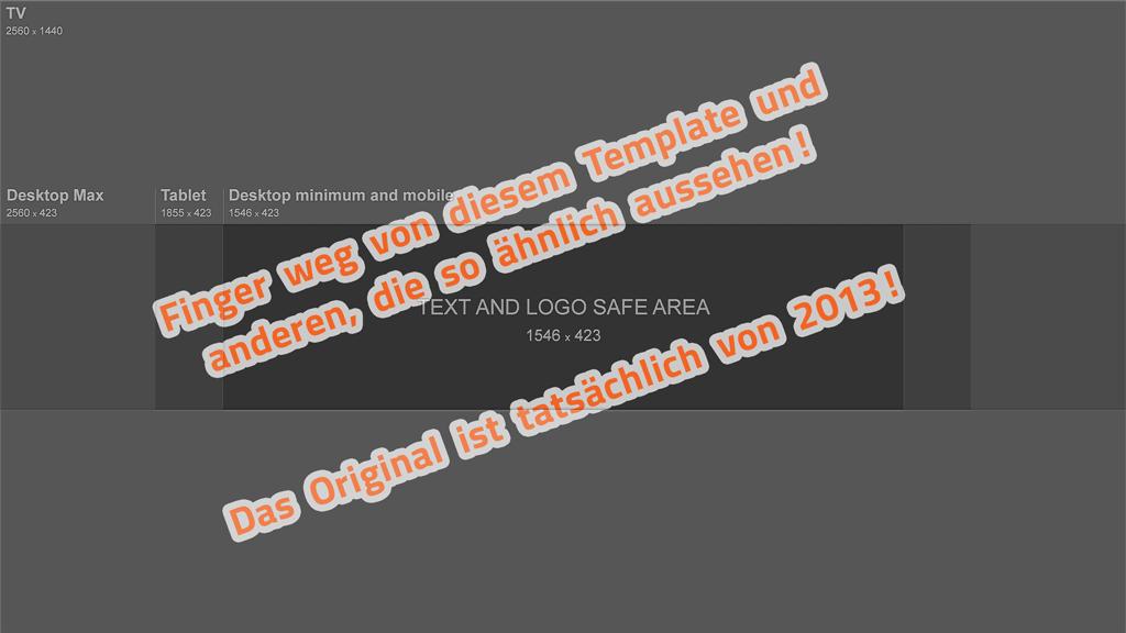 Channel-Art-Template-(Photoshop): Alte Vorlage von YouTube, die man sich herunter laden konnte.