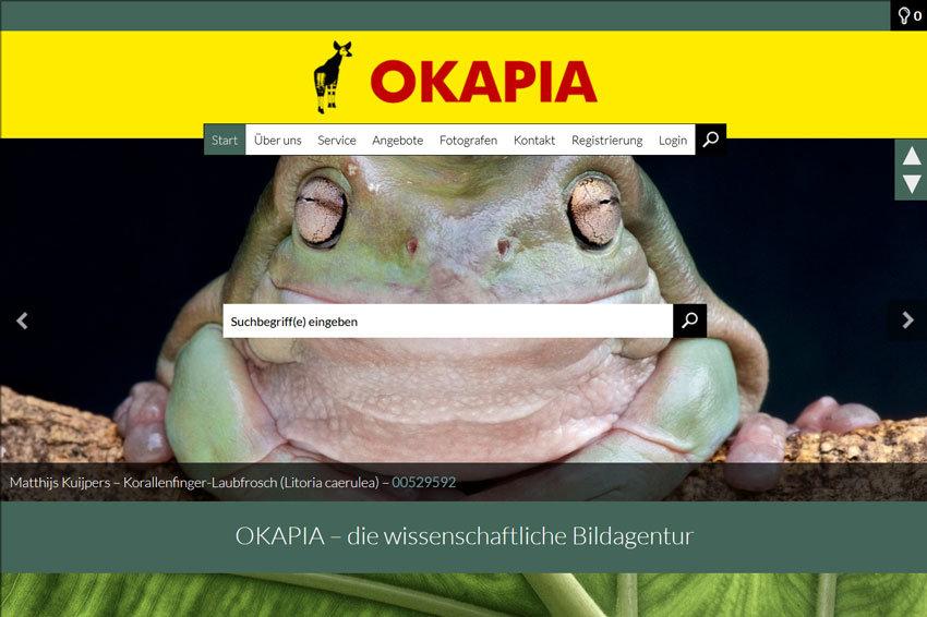 OKAPIA – Bildmaterial für die Wissenschaft