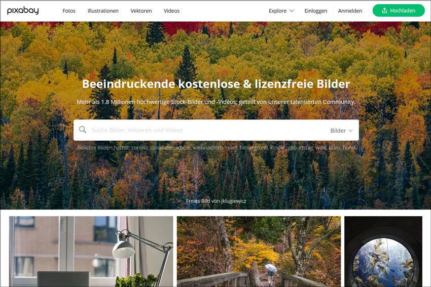 Bilddatenbank Pixabay: Bilder, Stockbilder kostenlos downloaden