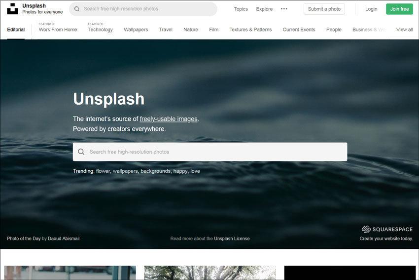 Unsplash, frei nutzbare Bilder von und für Creator