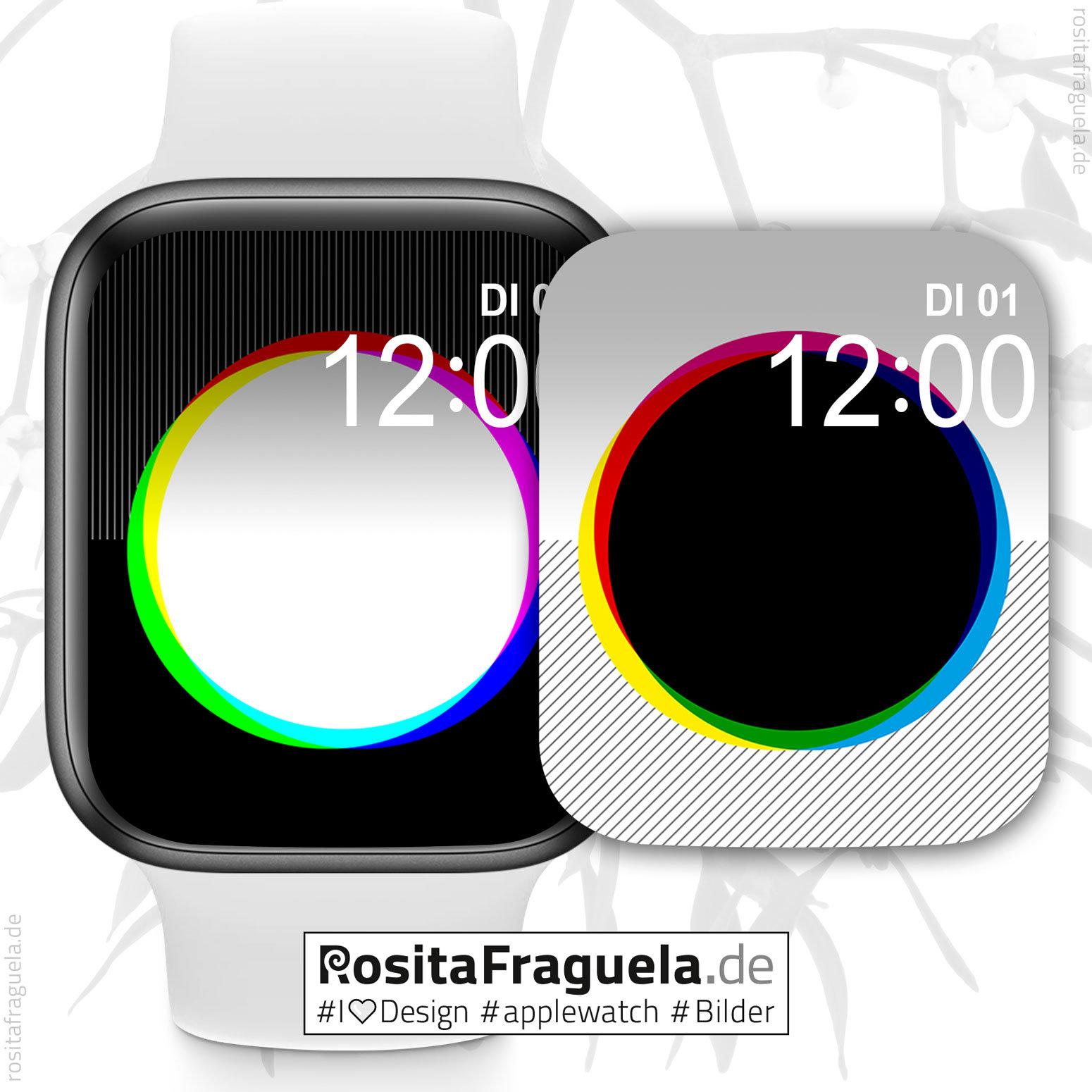 Adventskalender für Apple Watch-Liebhaber/innen, jeden Tag 1 - 5 kostenlose Motive
