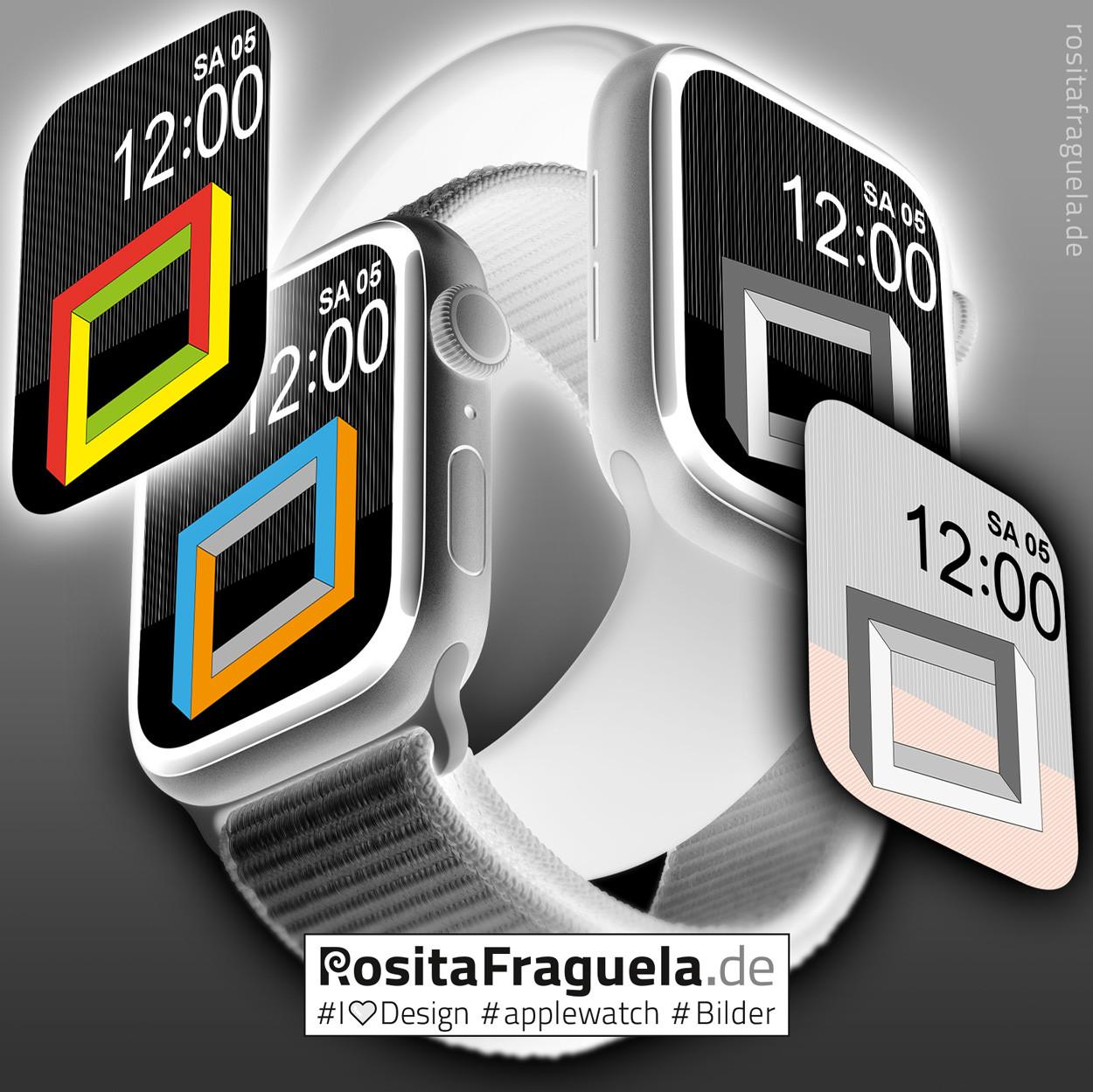 Design-Motive für Deine Apple Watch – Bilder, Illustrationen, Kunstwerket
