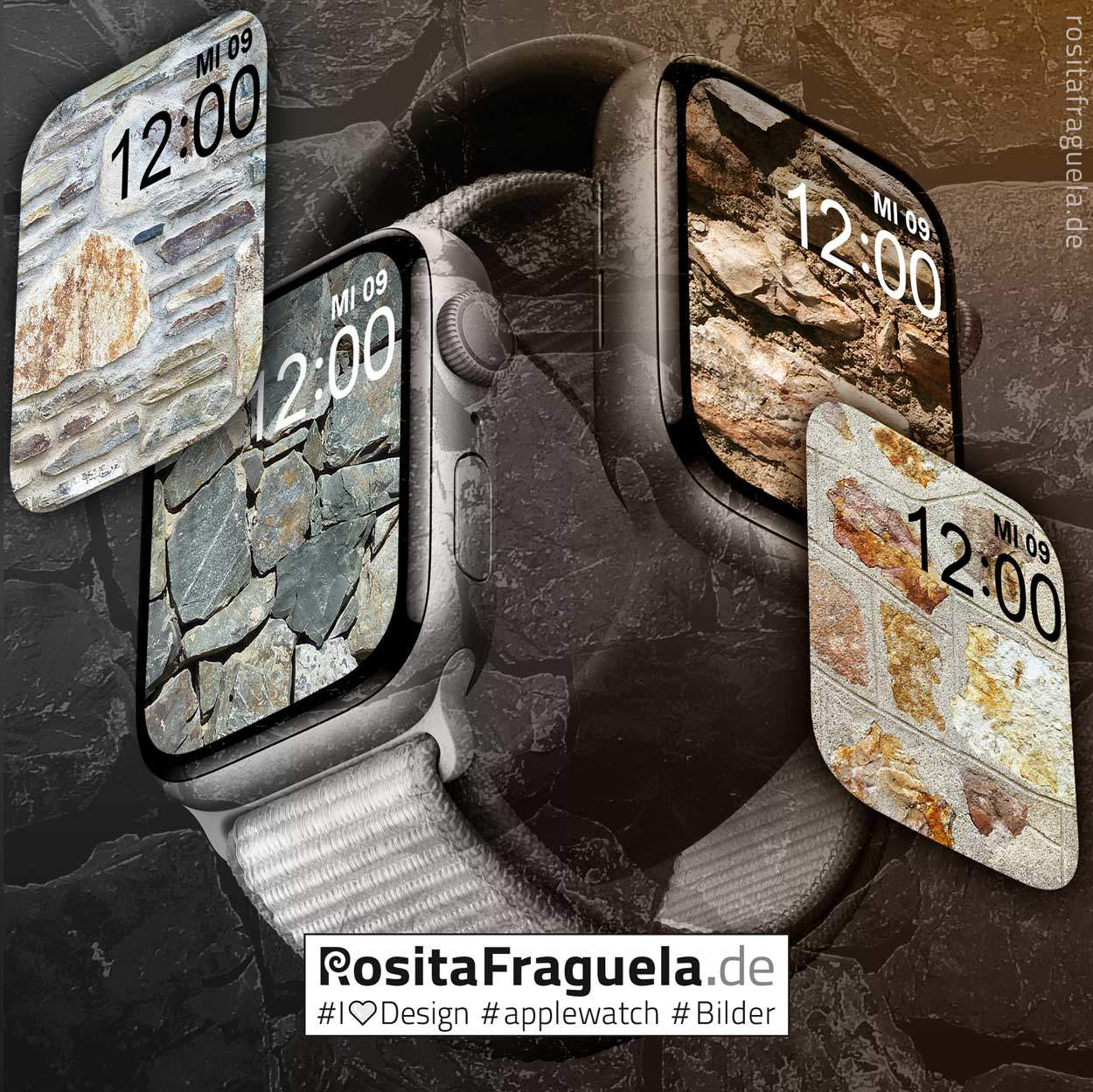 24 × Design-Motive für Deine Apple Watch – Bilder, Illustrationen, Kunstwerke