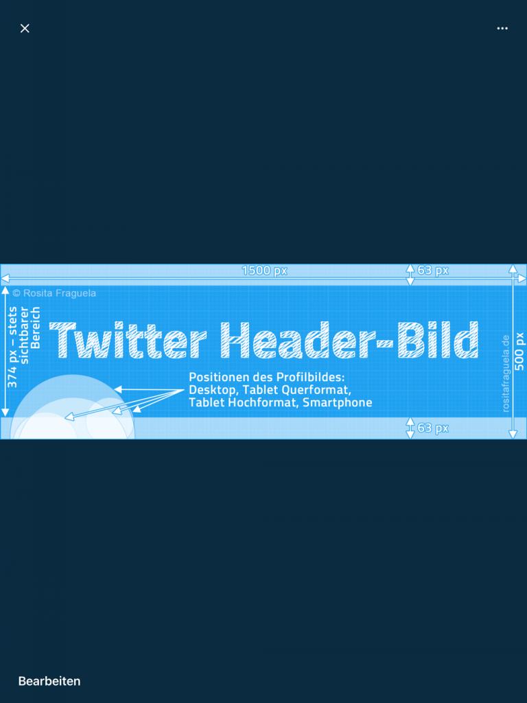 Twitter App auf Tablet im Hochformat Darstellung komplettes Titelbild 2021 – Training für Marketer bzw. Marketing Professionals