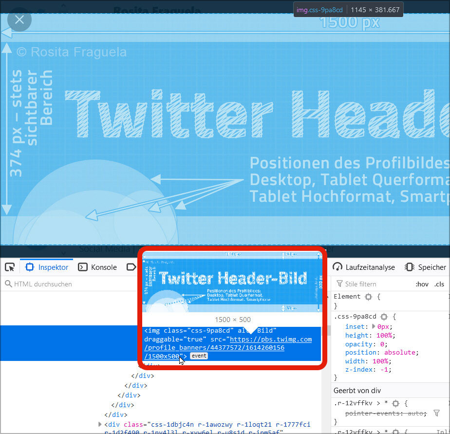 Twitter profile banner 2021 perfect size template photoshop visual content