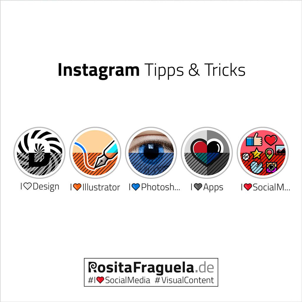 5 Tipps für Dein Instagram Marketing – Beiträge per PC veröffentlichen, Bildgröße Profilbild, Story-Highlight-Cover nutzen, Größen für Beitragsbilder, Bildcollagen