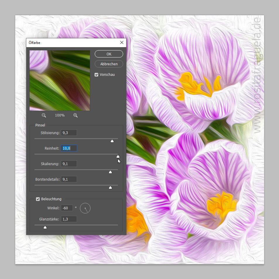 Adobe Photoshop Workshop – Ein Bild in ein Gemälde umwandeln